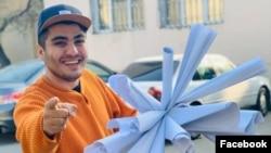 Mehman Hüseynov seçki protokollarını təqdim edir