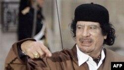 Лівійський лідер Муаммар Каддафі