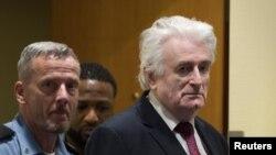 Radovan karadžić u sudnici Haškog tribunala (Foto: Reuters/Peter Dejong)