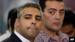 'Yan jarida biyu na Al-Jazeera dake cikin fursinonin da aka yiwa ahuwa
