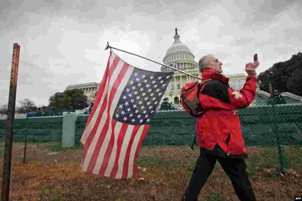 Активисты пытаются «захватить» Конгресс