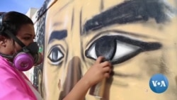 Sudan Graffiti Artist Honors Anti-Government Protest Victims