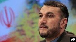 FILE - Iranian Deputy Foreign Minister Hossein Amir Abdollahian.