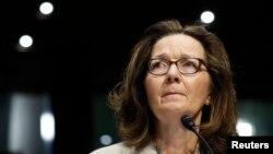 Direktur CIA Gina Haspel memberi kesaksian di hadapan Komite Intelijen Senat di Capitol Hill di Washington, 9 Mei 2018.