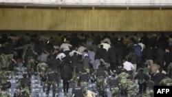 İran Suudi Arabistan Karşıtı Gösteri Yapanları Gözaltına Aldı