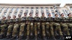 Підготовка до військового параду у Києві