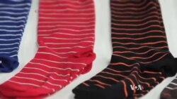 Made in America Socks Get Toehold in Online Fashion Market