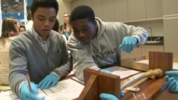 Students Help Develop Hands-on Smithsonian Exhibit