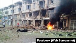"""Theo thông cáo của Bộ Công an, nguyên nhân vụ việc ban đầu được xác định """"là do sự cố liên quan vật liệu nổ""""."""