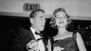 Humphrey Bogart ve Lauren Bacall (12 Ekim 1955)
