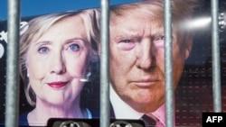 Capres AS, Hillary Clinton dan Donald Trump.
