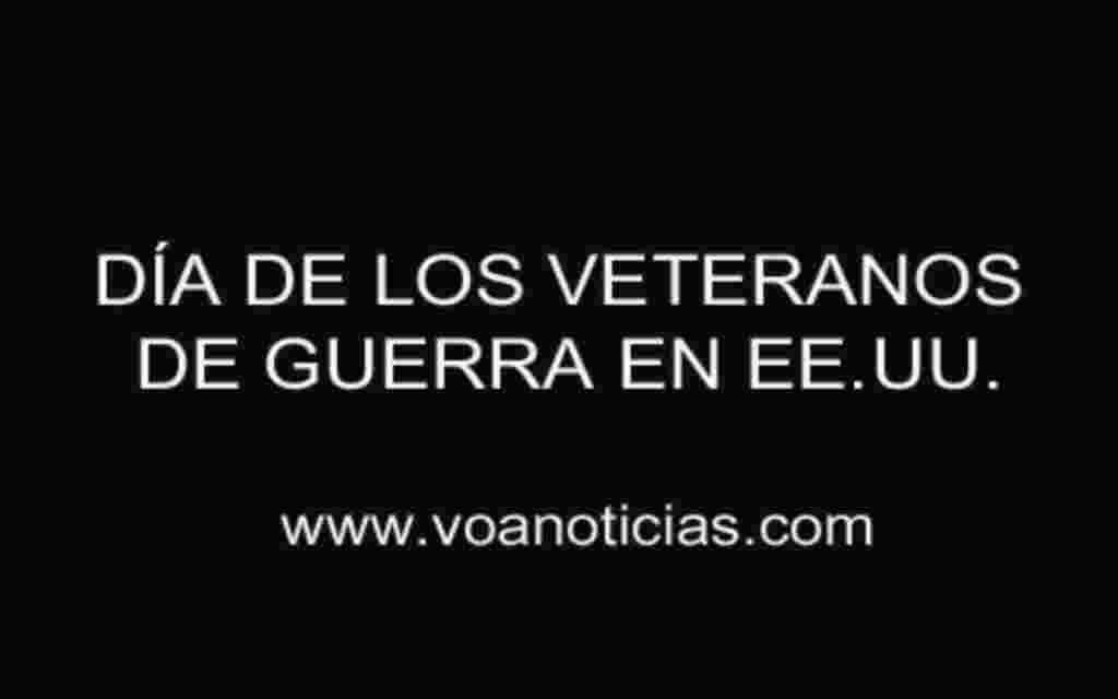 Día de los veteranos de guerra en EE.UU.