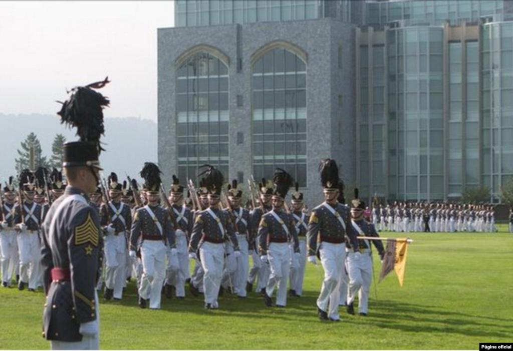#9 Academia Militar dos Estados Unidos da América - Fica em West Point, Nova Iorque