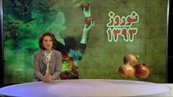 پیام نوروزی ستاره درخشش رئیس بخش فارسی صدای آمریکا