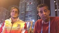 Remo nos Olímpicos: André Matias de Angola já foi à água duas vezes