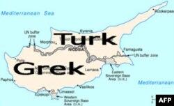O'rtayer dengizidagi kichik orol bo'lmish Kiprning shimoliy qismi turk, janubi esa grek nazorati ostida