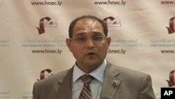 Le président de la Commission électorale libyenne, Nouri al Abar