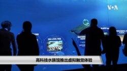 高科技水族馆推出虚拟触觉体验
