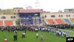گزارش: استقبال سرد تبریزی ها از احمدی نژاد