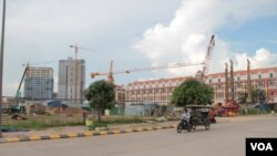 FILE-Phnom Penh sees an increase in real estate projects in recent years.