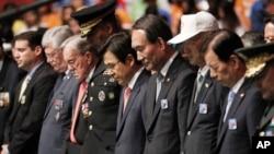 韩国首尔举行纪念第63个韩朝停战日