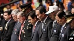 南韓星期三-7月27日在首爾舉行大會,紀念第63個韓戰停戰日。