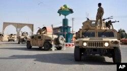 Jami'an tsaron Afghanistan suna sintiri cikin birnin Ghazni