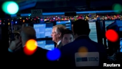 지난달 22일 미국 뉴욕의 증권거래소.