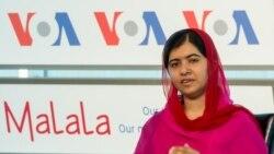 미국은 지금: 워싱턴 찾은 노벨평화상 수상자, 말랄라
