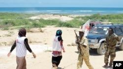 MSF staff often work in the midst of armed militias in Somalia.