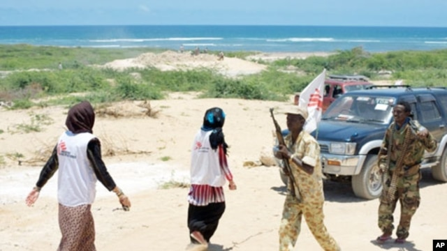 MSF staff often work in the midst of armed militias in Somalia.