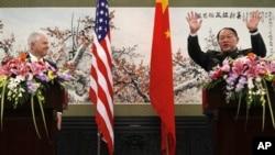چین اور امریکہ کے وزرائے دفاع