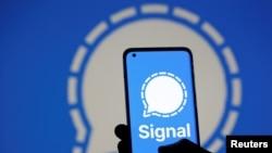 通讯应用软件Sigal正受到香港网民的青睐(路透社)