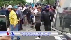 Hòa Malaysia 2-2, tuyển Việt Nam chờ trận chung kết lượt về