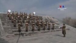 «Եռաբլուր» զինվորական պանթեոն՝ հարգանքի տուրք 2016թ. ապրիլյան պատերազմի ժամանակ զոհվածներին