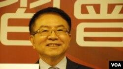 台灣民進黨前立法委員洪奇昌表示,中國的經濟讓利未能改變台灣人恐共、拒共的心態.(美國之音湯惠芸)