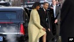 Мишель и Барак Обама (фото из архива)