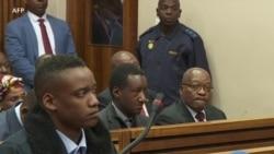 Le procès du fils de l'ancien président Zuma se poursuit à Johannesburg