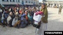 소말리아 수도 모가디슈의 시민들. (자료사진)