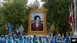 'Đạp xe cho Mẹ' tôn vinh Hoàng hậu Thái Lan