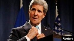 """El Secretario de Estado, John Kerry, dijo que el Departamento de Estado busca """"compartir la prosperidad de los socios del sector privado en todo el mundo""""."""