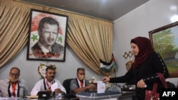 Hilbijartinên Serokatiya sûriyê