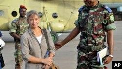 Béatrice Stockly avait été enlevée une première fois puis libérée en avril 2012. (AP Photo/Brahima Ouedraogo, File)