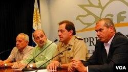 El coronel Carlos Lorente, titular de la Dirección Técnico Operativa del Sistema Nacional de Emergencias, realizó una puesta a punto de la situación.