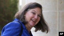 ARCHIVO - Victoria Nuland, subsecretaria de Estado para Asuntos Políticos encabeza delegación estadounidense a El Salvador.