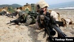 Bình Nhưỡng thường xuyên gọi những cuộc tập trận hàng năm của Hoa Kỳ - Nam Triều Tiên là một cớ để xâm lăng.