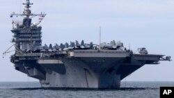 Hàng không mẫu hạm USS George Washington đã lên đường vào chiều thứ ba để tới giúp Philippines.