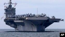 Tàu sân bay USS George Washington ngoài khơi Philippines