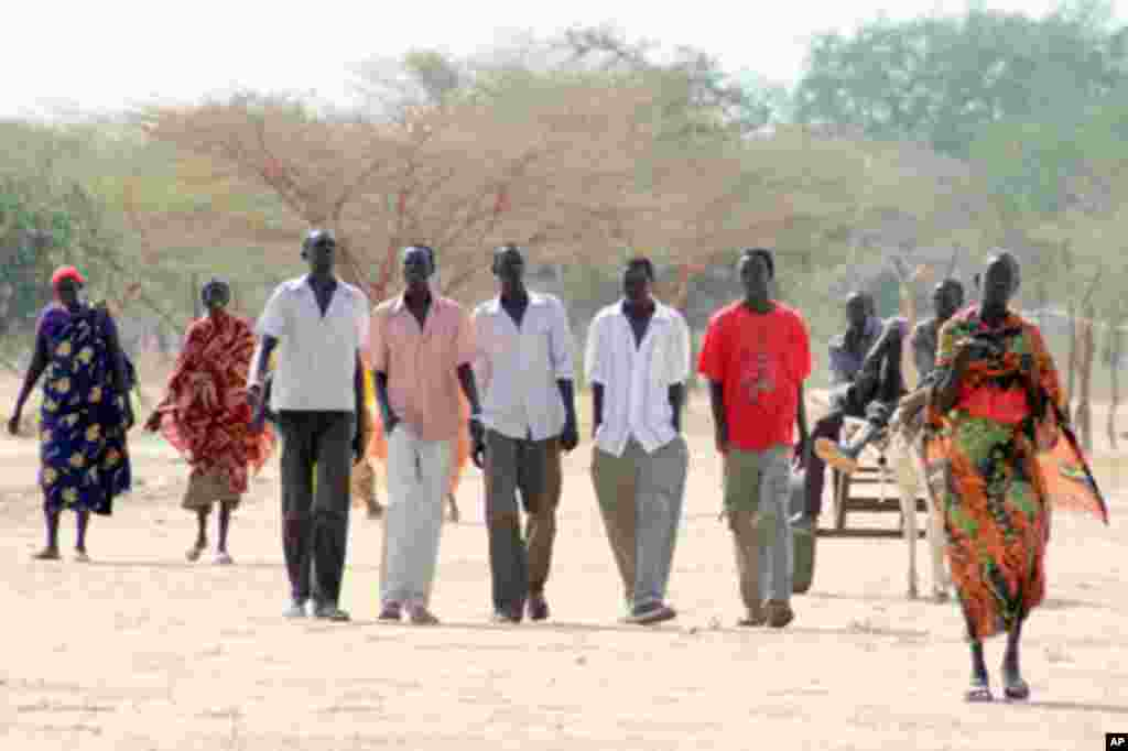 The vast majority of the returnees to Abyei ahead of a planned January 2011 referendum were Ngok Dinka, who are allied with Juba.