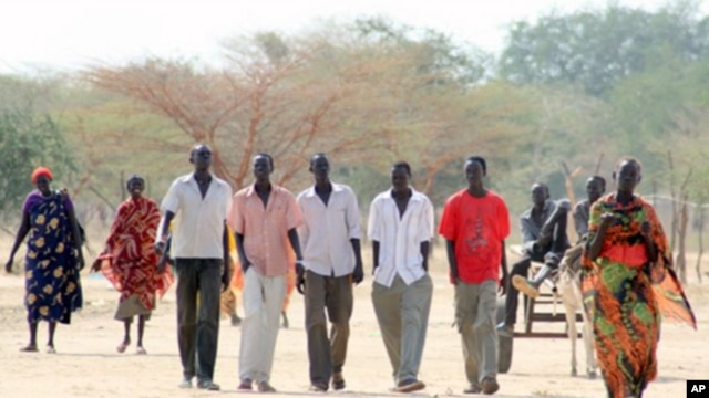 Thousands have returned to Abyei, mostly Ngok Dinka, who say they are happy to be back to their traditional homeland. (AP)